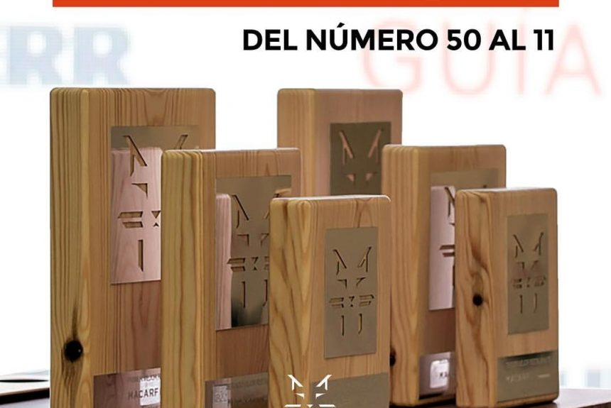 Bodega Sepúlveda ranks in the Top 50 at the Premios Macarfi 2018